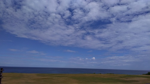 芝政ワールドキレイな海の景色