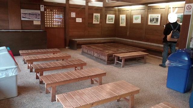 無料休憩スペース江戸東京たてもの園