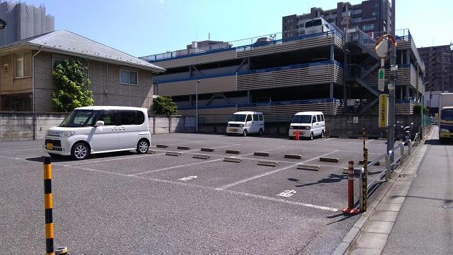 クラッセ駐車場場所