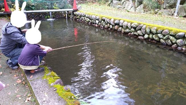 水輪フィッシングセンター釣り堀