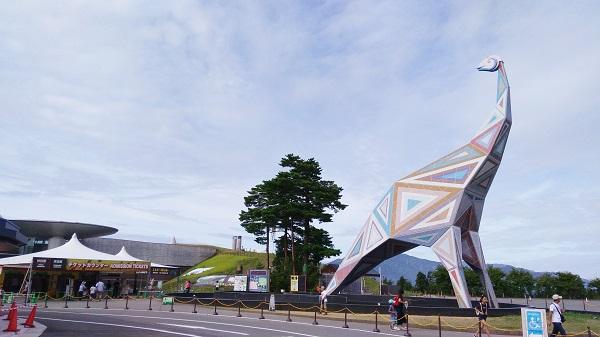 福井県恐竜博物館場所