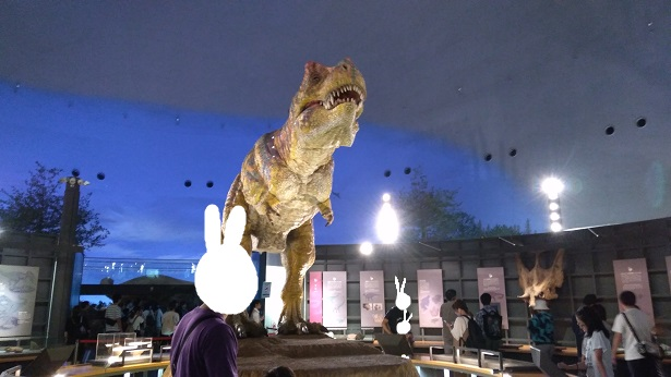 恐竜博物館動くティラノサウルス