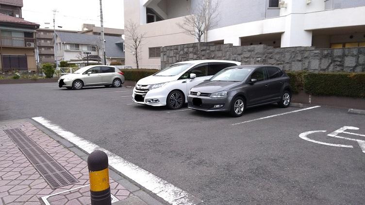 戸田センタプリムローズ駐車場