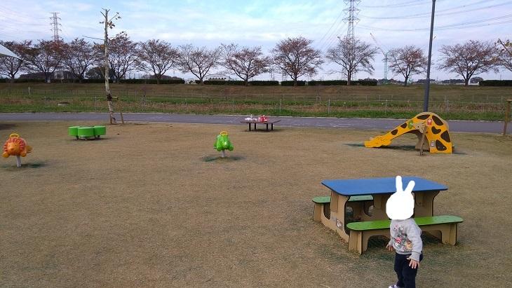 川越小さい子供の遊び場