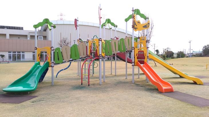 川越ピコア公園遊具