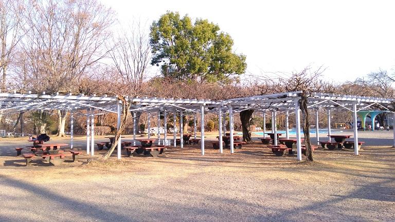 休憩スペース北本市子供公園