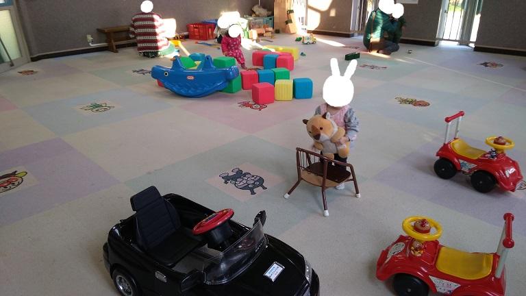 北本市子供公園小さい子向け遊び場