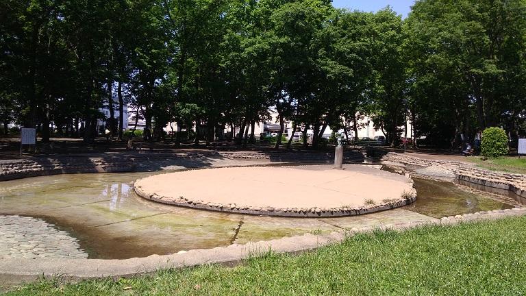 伊佐沼公園水遊び場