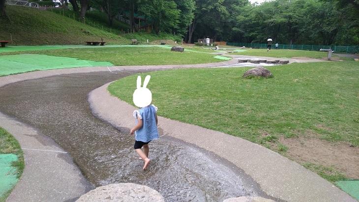 埼玉県北本市水遊び