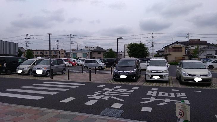 北本市立児童館駐車場