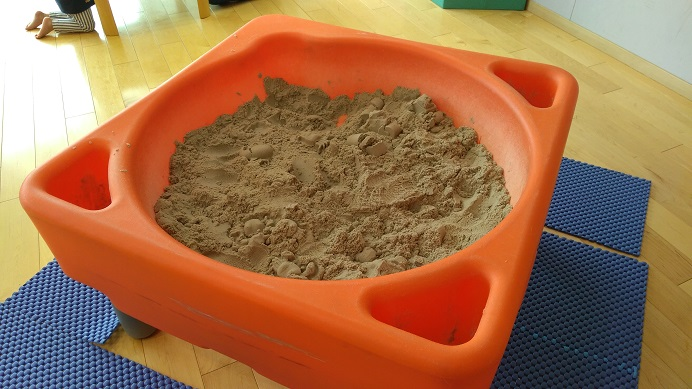 北本市立児童館砂場コーナー