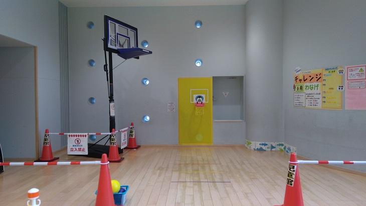 室内バスケットゴール