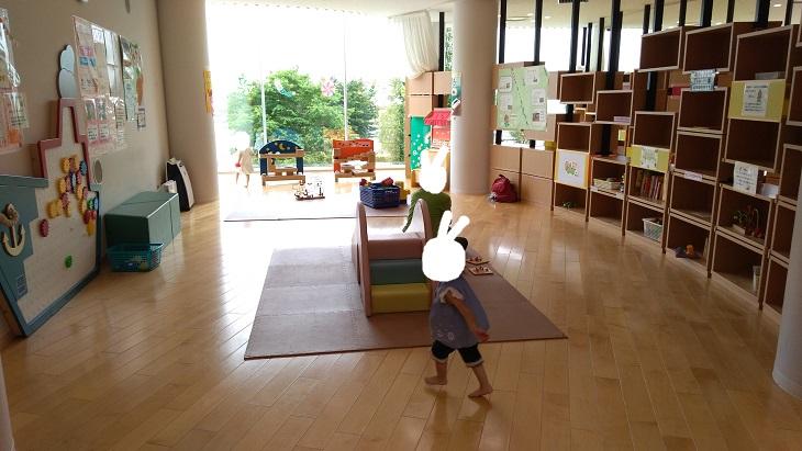 赤ちゃんや小さい子の遊び場