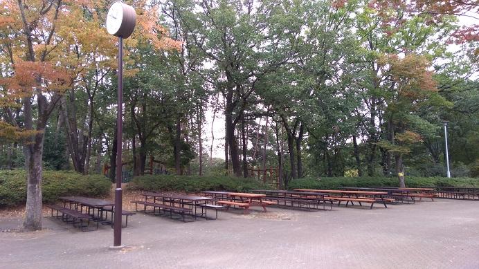 食事の場所こども動物自然公園