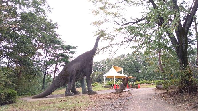 恐竜コーナーこども動物自然公園