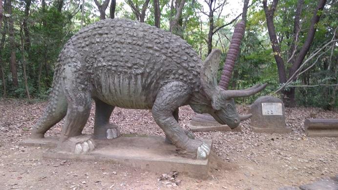 トリケラトプス恐竜