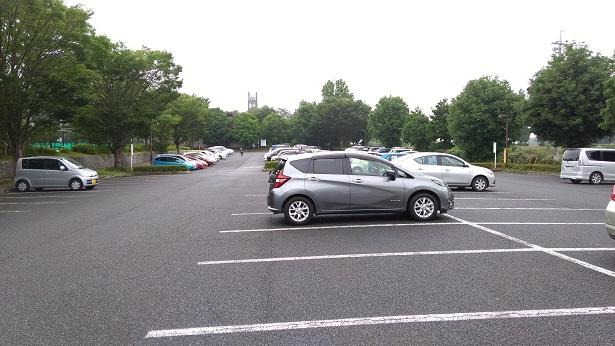 智光山公園駐車場