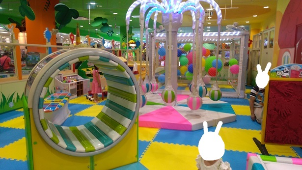 イオン浦和美園子供の遊び場