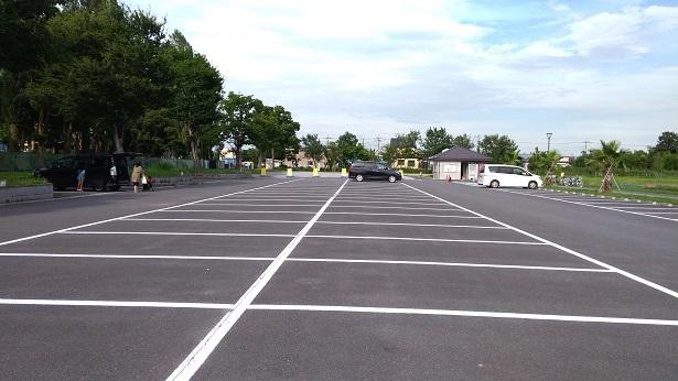コバトンの森駐車場