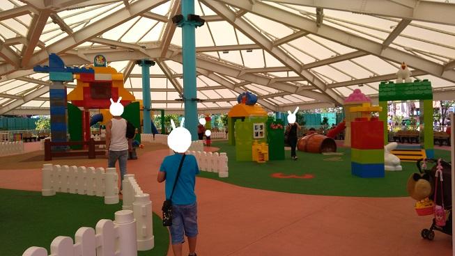 レゴランド名古屋小さい子向け遊び場