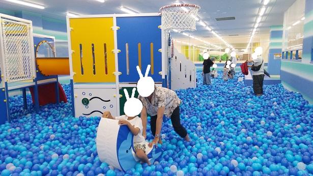 ボールプールにある遊具