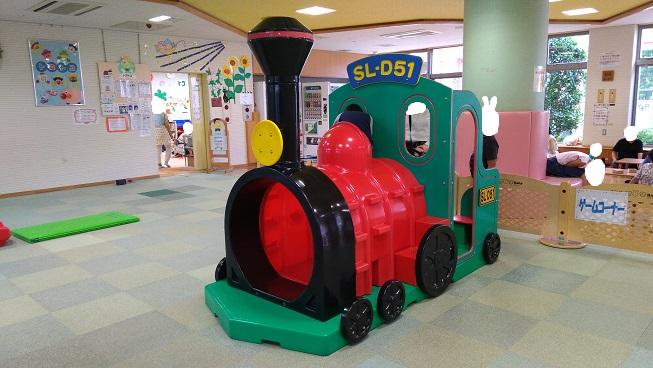 電車の乗り物遊具