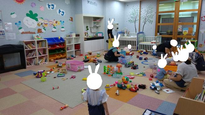 赤ちゃんから3歳までの遊び場