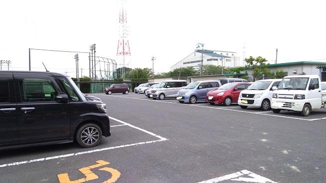 平成の森公園駐車場