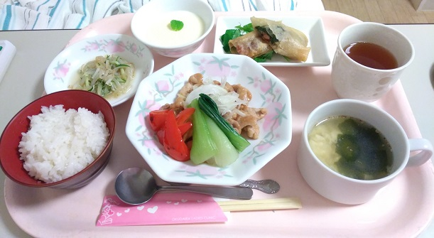 奥平産婦人科食事昼ごはん