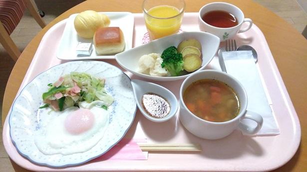 奥平産婦人科食事メニュー朝