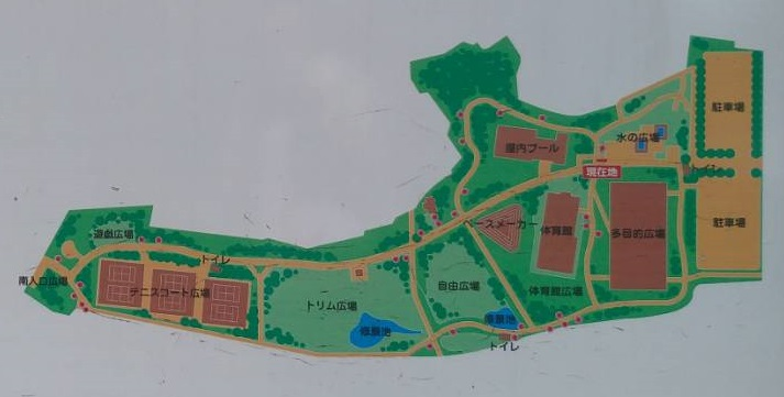 三橋総合公園地図
