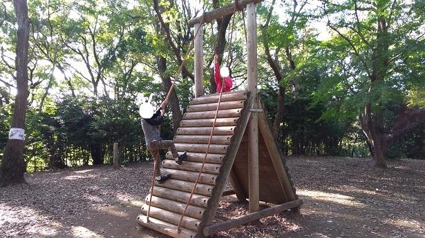 登りロープ