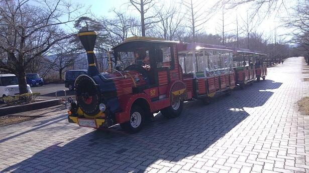 秩父ミューズパーク園内バス