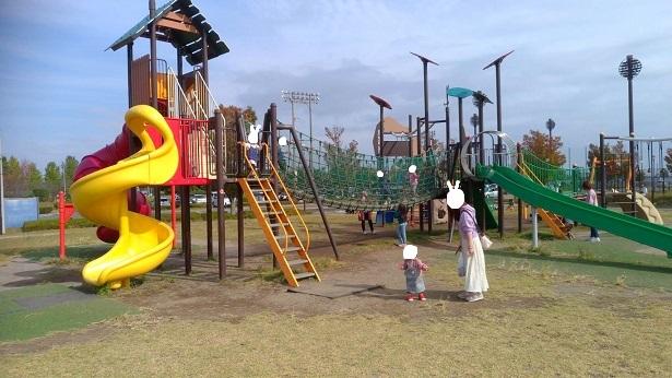 上谷総合公園遊具