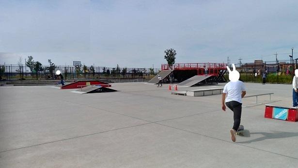 スケートパーク上谷総合公園