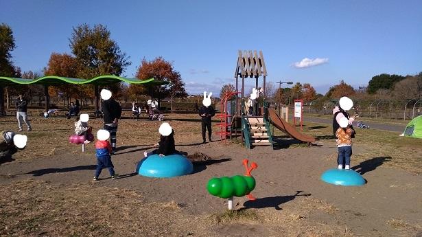 小さい子向け遊具羽生水郷公園遊具