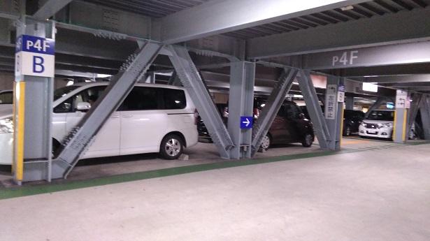 ハムリーズ横浜ワールドポーターズ駐車場