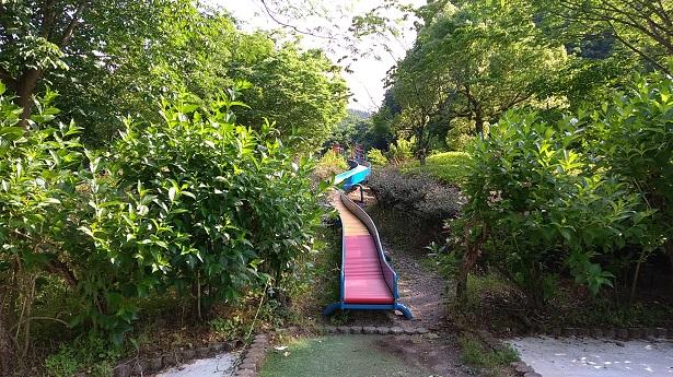 甘楽総合公園ローラー滑り台