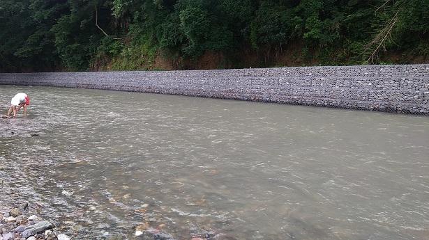 巾着田の川