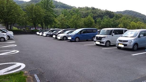 ぐんまこどもの国駐車場