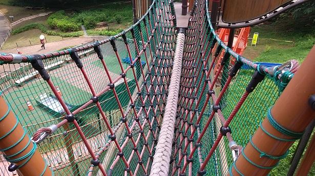 ロープ渡り