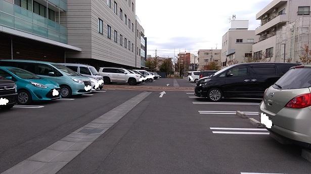 さいたま新都心あいぱれっと駐車場