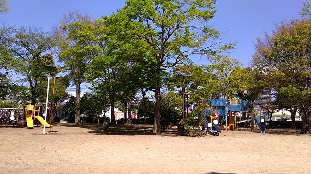 西之原中央公園広場